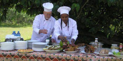 Arumeru River Lodge Chef