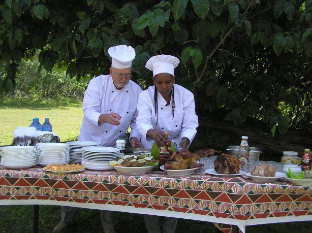 Arumeru River Lodge Chef