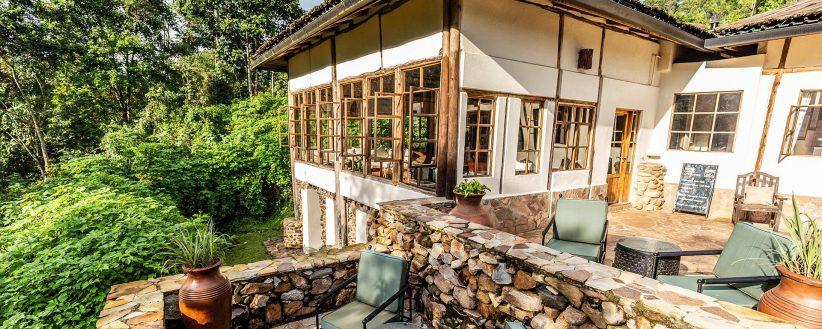 Volcanoes Bwindi Lodge Banner